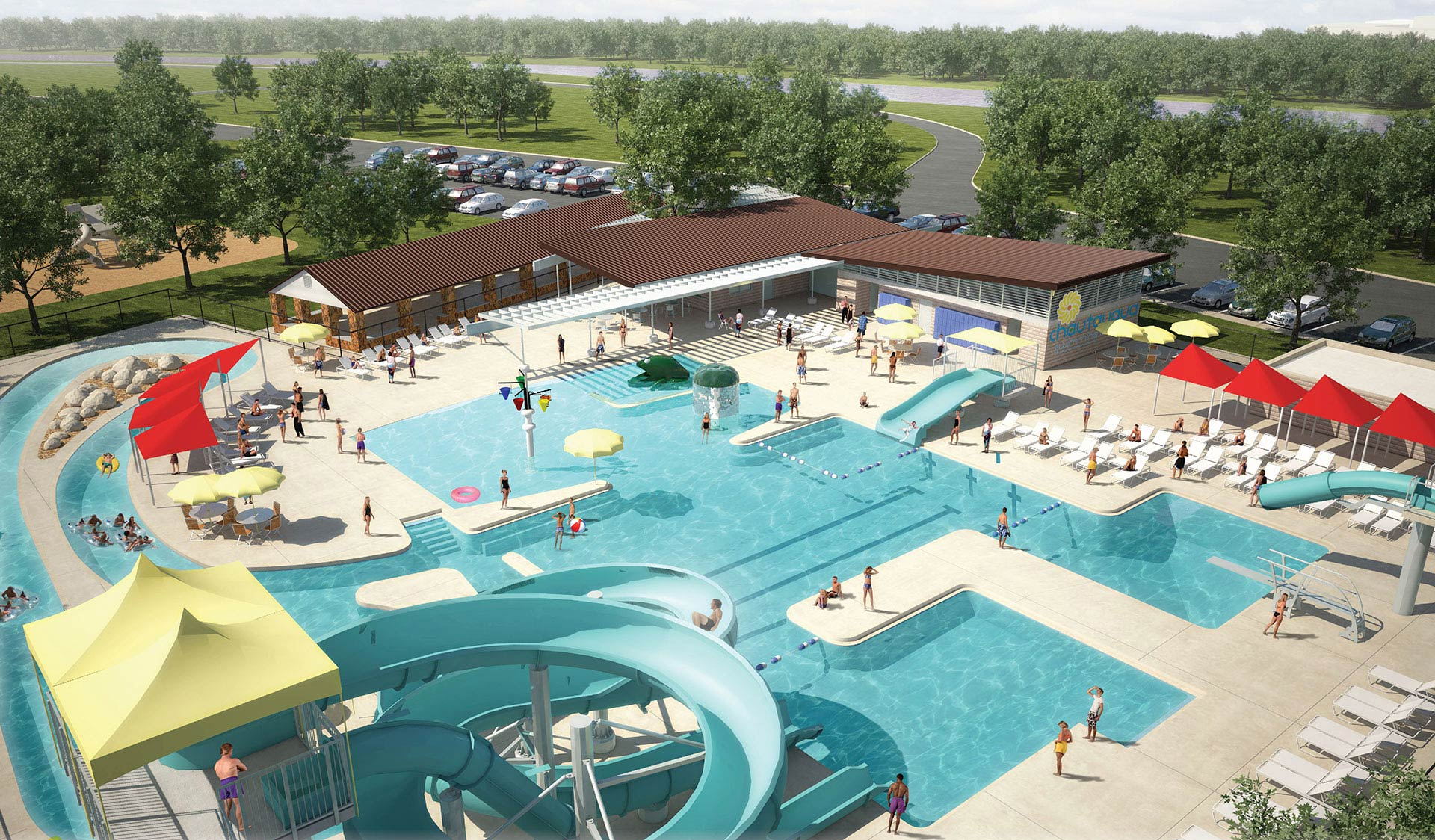 Chautauqua aquatic center beloit kansas for Public swimming pools kansas city
