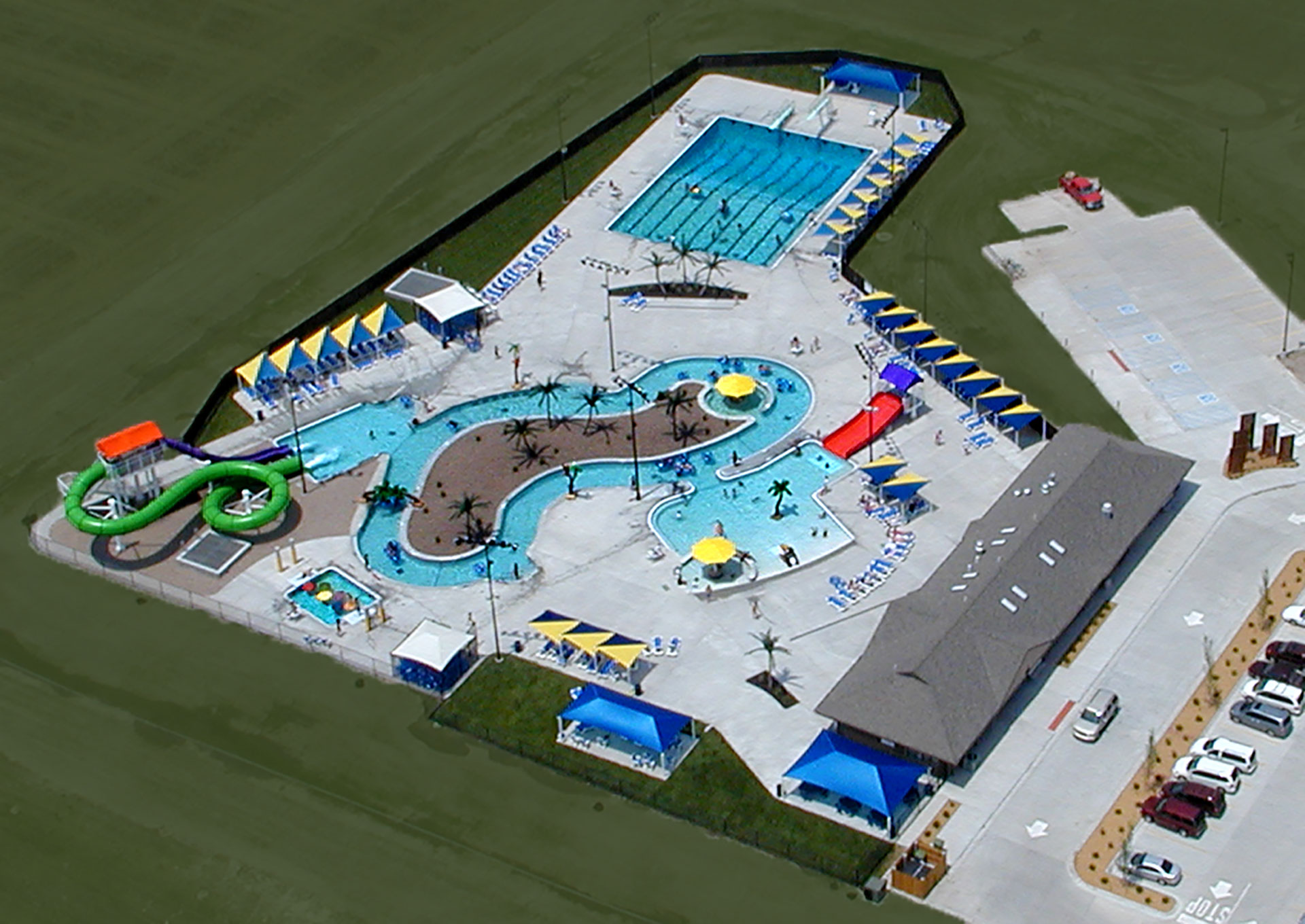 Colby Kansas Aquatic Center Municipal Waterpark