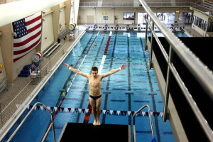 Virginia Tech / Christiansburg Aquatic Center Diving