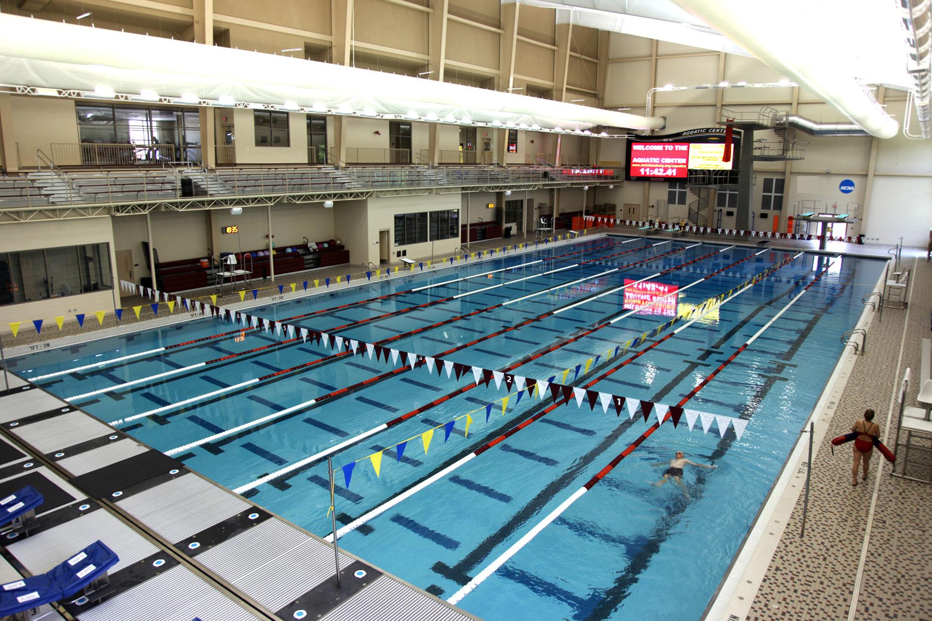 El Paso Texas West Side Natatorium Aquatic Center